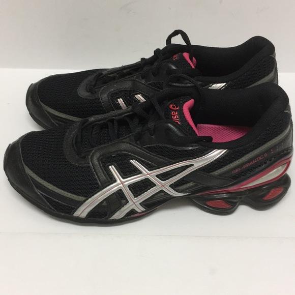 44f5a859062d Asics Shoes - ASICS Gel Frantic 6 (T1E5N) black magenta 8.5